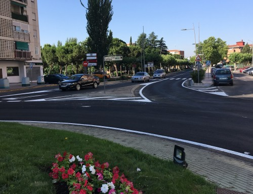 La Comunidad de Madrid finaliza las obras de asfaltado de la travesía de la M-405 (C/ Madrid)