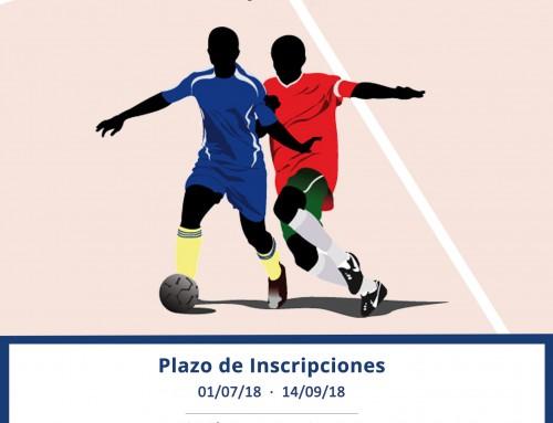 Hasta el 14 de septiembre, abierto el plazo de inscripciones para la Liga Local de Fútbol Sala 2018-2019