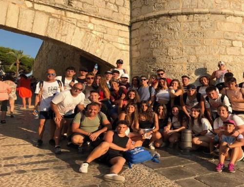 Un grupo de jóvenes de Humanes de Madrid ha disfrutado de un campamento en Benicarló (Castellón de la Plana)