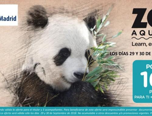 29 y 30 de septiembre, Días Especiales de Humanes de Madrid en el Zoo Aquarium de Madrid