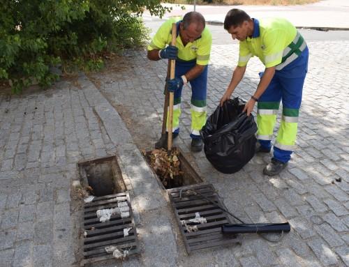El Canal de Isabel II está realizando la limpieza general periódica de la red de alcantarillado de Humanes de Madrid