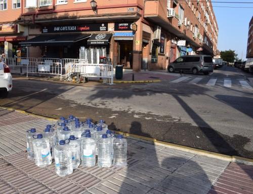 Aviso: Rotura de agua en C/ Madrid esquina a C/ Tejar