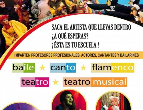 """El 28 de septiembre, presentación de la Escuela de Artes Escénicas """"Menudos Artistas"""" de Humanes de Madrid"""