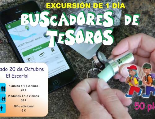"""Búsqueda de Tesoros """"Geocaching"""": Nueva excursión para las familias de Humanes de Madrid"""
