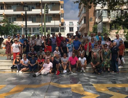 Casi 70 mayores, jubilados y pensionistas de Humanes de Madrid están disfrutando de un viaje a Marbella