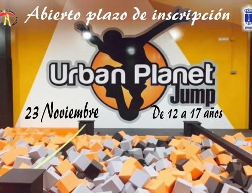 """23 de noviembre: Jornada de saltos y piruetas en """"Urban Planet Jump"""""""