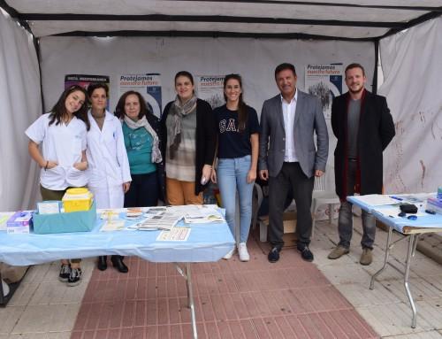 Un año más, Humanes de Madrid se suma a los actos del Día Mundial de la Diabetes