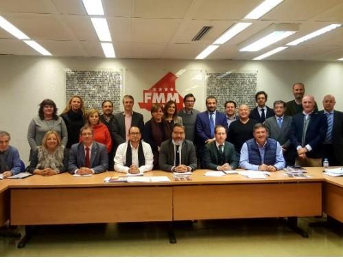 José Antonio Sánchez asiste a la primera Asamblea General de la Red Madrileña de Agencias de Colocación Municipales