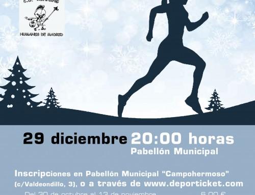 Inscripciones abiertas para la VIII Carrera Popular San Silvestre de Humanes de Madrid