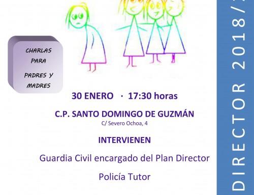 """El 30 de enero, charla sobre """"Nuevas tecnologías y acoso escolar"""" dirigida a los padres de todos los alumnos de Humanes de Madrid"""