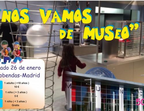 """Se abre el plazo de inscripción para la excursión familiar """"Nos vamos de museo"""""""