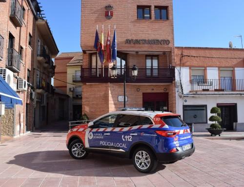 Policía Local de Humanes de Madrid y Guardia Civil detienen, en una operación conjunta, al presunto autor de la quema de contenedores