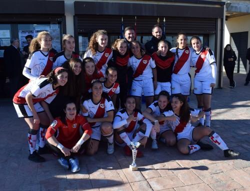 """Rayo Vallecano y Olímpico, ganadores del I Torneo Nacional de Fútbol Femenino """"Vicente Temprado"""""""