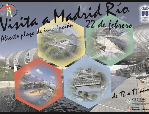 El 22 de febrero los jóvenes de Humanes de Madrid visitarán Madrid Río