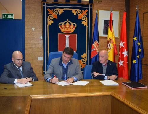 José Antonio Sánchez firma un convenio con la Confederación Española de Personas con Discapacidad Física y Orgánica (COCEMFE)