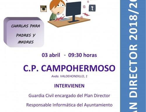 """El 3 de abril, charla sobre """"Adicción a las redes sociales y su riesgo"""" dirigida a los padres de todos los alumnos de Humanes de Madrid"""