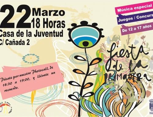 El 22 de marzo los jóvenes de Humanes de Madrid celebrarán la Fiesta de la Primavera