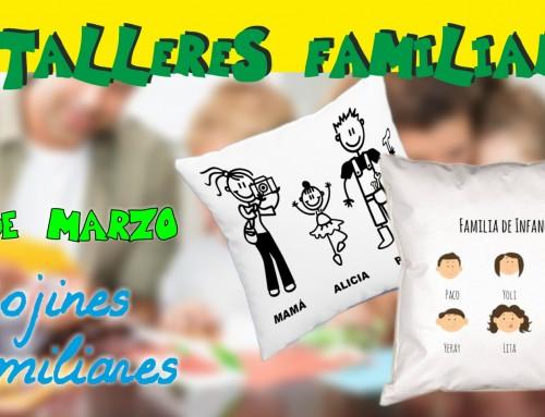 """Se abre el plazo de inscripción del Taller Familiar """"Cojines familiares"""""""