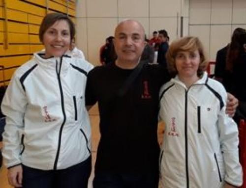 María Teresa González, alumna de la Escuela de Karate  Humanes, tercer puesto en Kata Femenino
