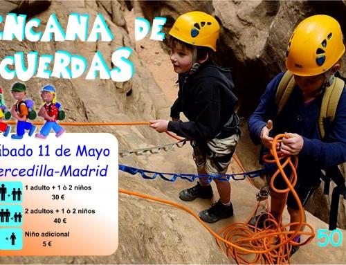 """""""Yincana de cuerdas"""", nueva excursión para las familias de Humanes de Madrid"""