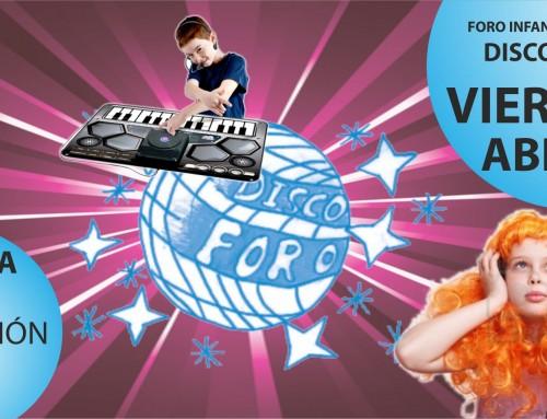 Este viernes, Disco Foro para niños de 8 a 14 años