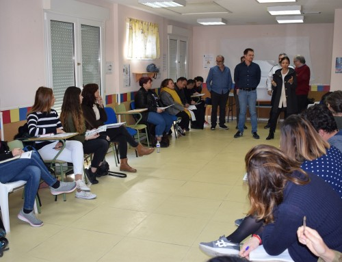 Los educadores de la Red de Infancia se reúnen en Humanes de Madrid
