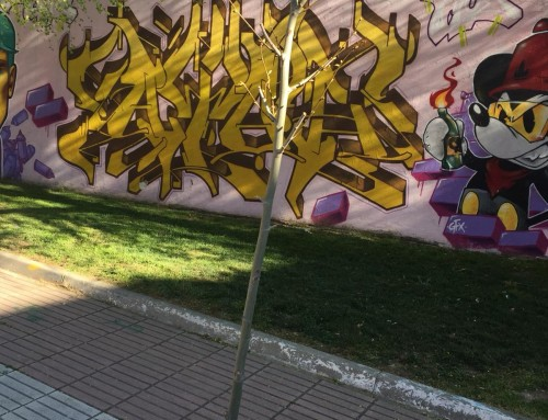 Reposición de árboles en alcorques vacíos de Humanes de Madrid