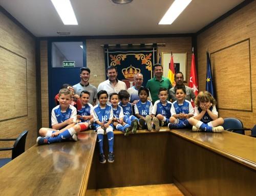 La Escuela de Fútbol Sala Humanes, en categoría Chupetines, campeón de la Liga 2018-2019
