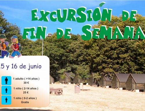 Inscripciones abiertas para la excursión familiar de fin de semana a Navamorcuende (Toledo)