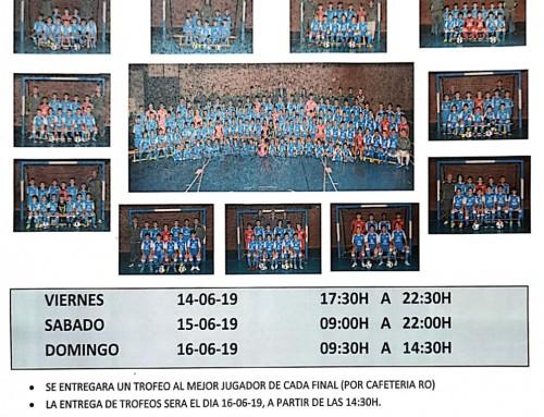 """14, 15 y 16 de junio, XIII Trofeo de Fútbol-Sala """"Villa de Humanes – Alberto Rodríguez"""""""