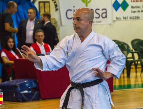 El director de la Escuela de Karate Humanes, Jesús Juan Rubio, obtiene la medalla de bronce en el Campeonato de España de Karate Tradicional