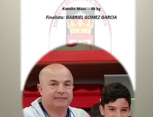 Gabriel Gómez García, alumno de la Escuela de Karate Humanes, clasificado para la Fase Final de los Juegos Deuko