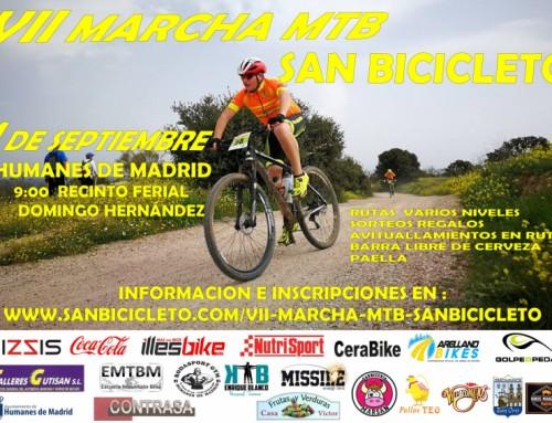 Continúa el plazo abierto para la VII Marcha MTB Cicloturista San Bicicleto.