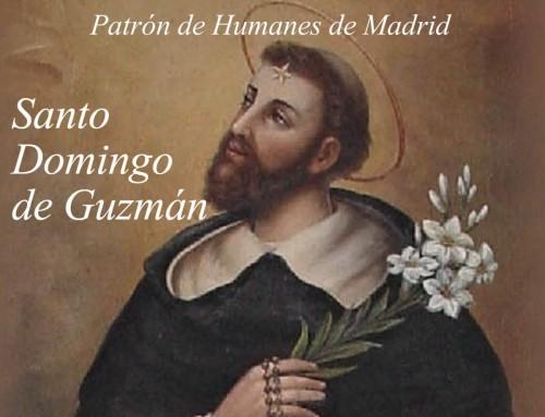 Humanes de Madrid celebra mañana jueves 8 de agosto, la festividad de Santo Domingo de Guzmán.