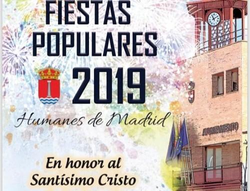 Las inclemencias del tiempo obligan a cambios en la programación de las Fiestas populares de Humanes de Madrid