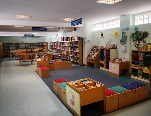 Biblioteca «Lorenzo Silva»: En agosto de lunes a viernes, la sala infantil abierta de 10.00 a 14.30 horas.
