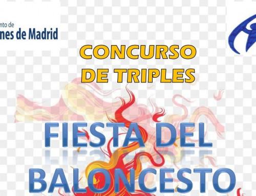 La concejalía de Deportes te anima a la fiesta del baloncesto con un concurso de tiros libres y de triples.