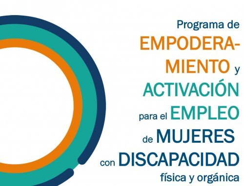 Programa de empoderamiento y activación para el empleo de mujeres con discapacidad física y orgánica.
