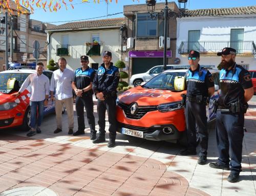 Cuatro vehículos policiales de Humanes de Madrid disponen de desfibriladores.
