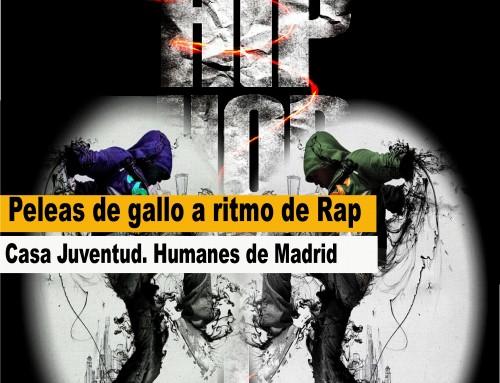 Concierto de hip-hop y «peleas de gallo» a ritmo de rap para jóvenes a partir de los 14 años.