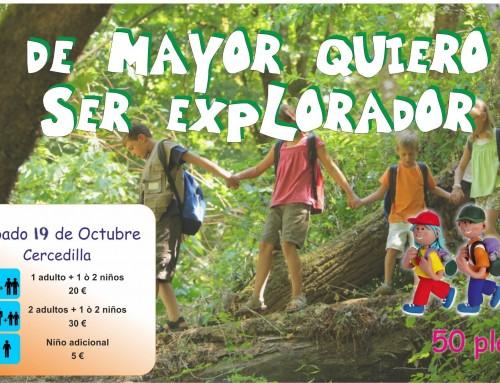 La concejalía de Infancia organiza una excursión en familia al Valle de la Fuenfría.