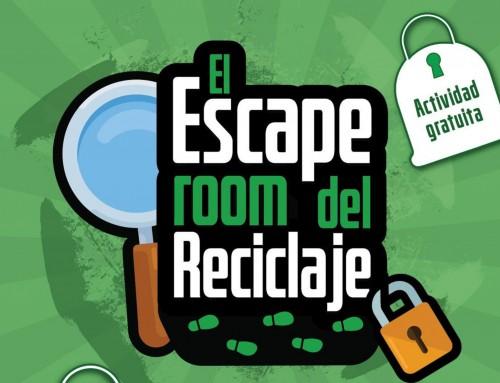 Alumnos de Humanes de Madrid visitarán mañana el «Escape Room», una actividad educativa para concienciarse del problema del vidrio y el reciclaje
