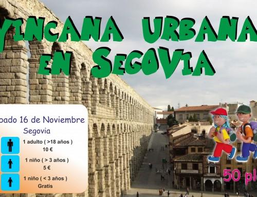 La concejalía de Infancia organiza una yincana familiar urbana por el casco histórico de Segovia.
