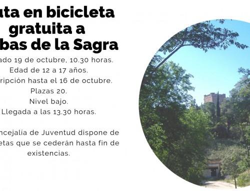 La concejalía de Juventud organiza rutas en bicicleta gratuitas para jóvenes de 12 a 17 años.