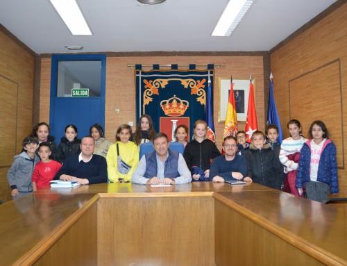 Reunión plenaria con el Foro infantil y adolescente.