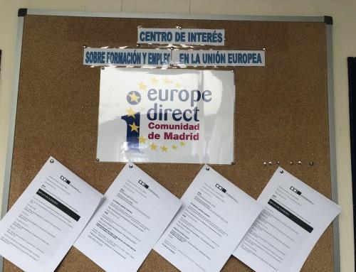Los vecinos de Humanes de Madrid podrán acceder desde el CIDEE a las ofertas de formación y empleo de la Unión Europea.