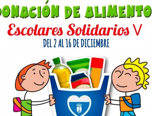Comienza la V edición de donación de alimentos en todos los centros escolares de Humanes de Madrid.