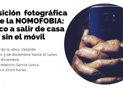 Humanes de Madrid acoge una exposición fotográfica sobre la nomofobia:  el pánico a salir de casa sin el teléfono móvil.