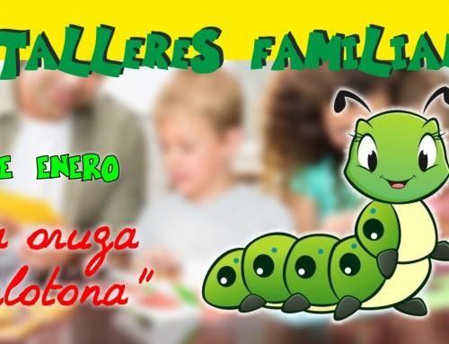 Infancia organiza talleres familiares gratis semanales, para menores de 6 años.