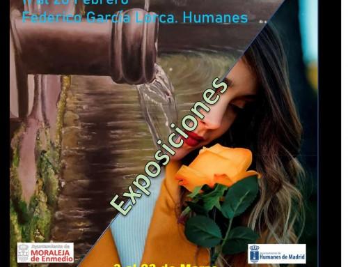 Unidos por la pintura y la fotografía, el colectivo Trazos expone en Humanes de Madrid y Saphotos en Moraleja de Enmedio.